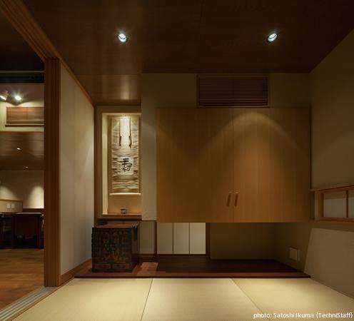 糸島の別荘 (落ち着いた雰囲気の和室)