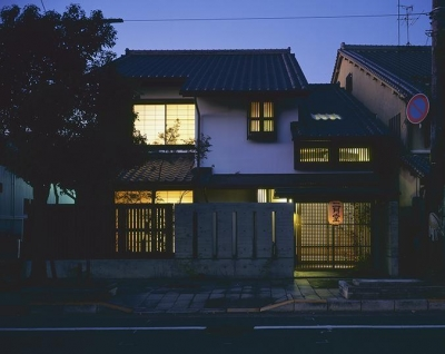 ならまちの家 (外観(夜景))