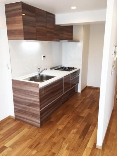 キッチン (高級ロッジのような上質で温もり豊かな住空間)