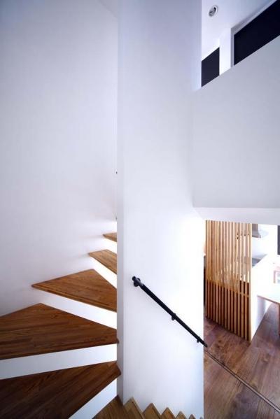 大東町のイエ (階段)