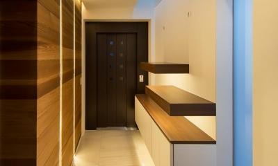 Y9-house 「空中の造形」 (玄関)