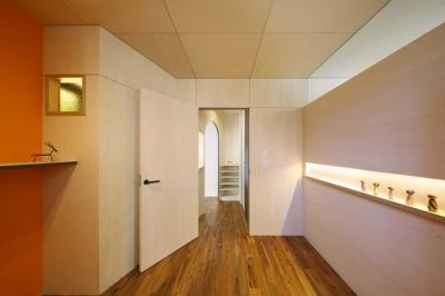 施術室 (ももの木鍼灸院 renov.)