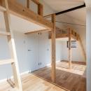連子門の家の写真 ロフトのある洋室
