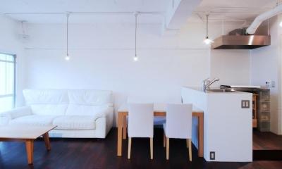 LINDEN-築26年ショップのような住居兼仕事場 (ダイニング)