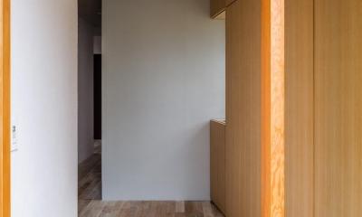 アトリエのある家 HouseNK (玄関)