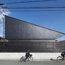 片流れ屋根の外観