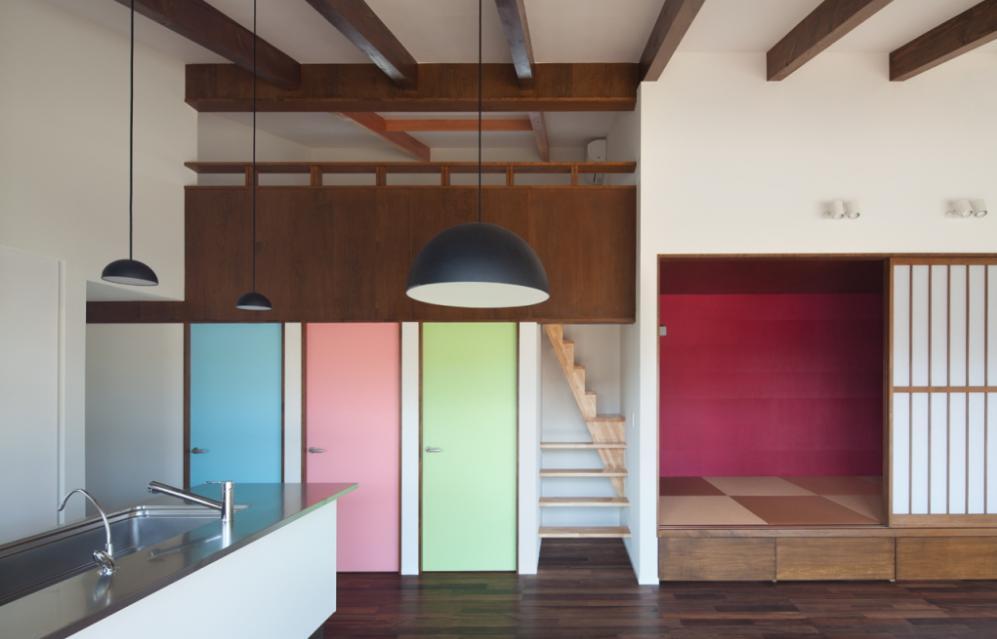 建築家:三角 健晃「和傘の家」