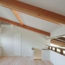 和傘の家の写真 広々としたロフト