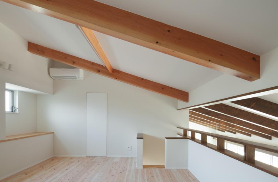 和傘の家 (広々としたロフト)