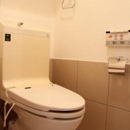 E様邸 (シンプルなトイレ)
