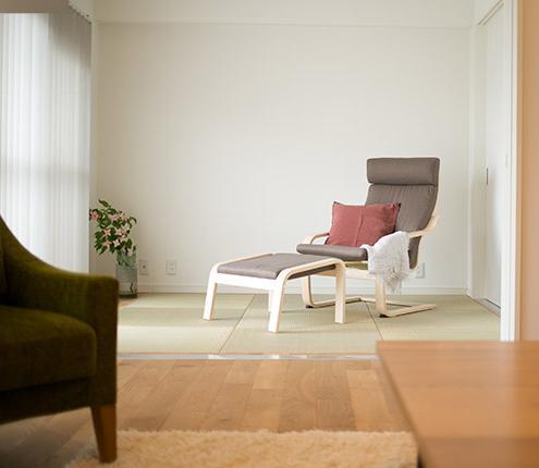 家族構成に合わせたマンションリノベーションの部屋 落ち着いた和室