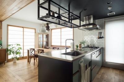 キッチン (たまプラーザのリノベーション(横浜市青葉区))