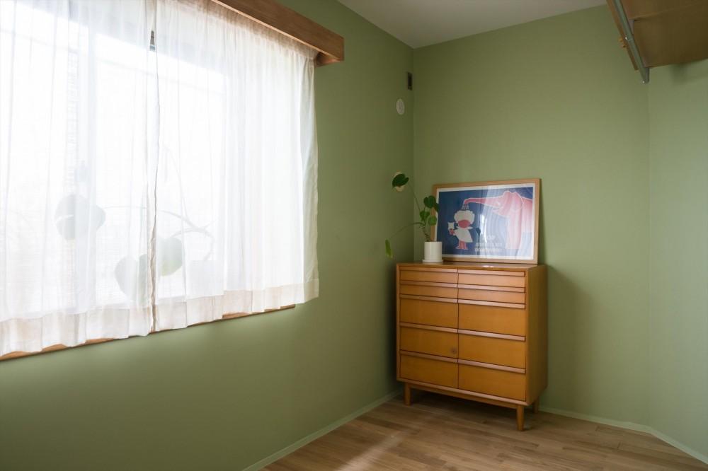 たまプラーザのリノベーション(横浜市青葉区) (子ども室)