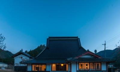 美山のK邸改修 (外観)