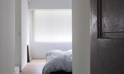 ベッドルーム|K邸-そしてタイルは「SUBWAY CERAMICS」