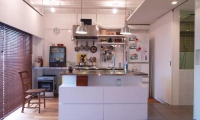 tori-「かもめ食堂」と「居酒屋」をひとつに (キッチン)