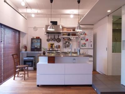キッチン (tori-「かもめ食堂」と「居酒屋」をひとつに)