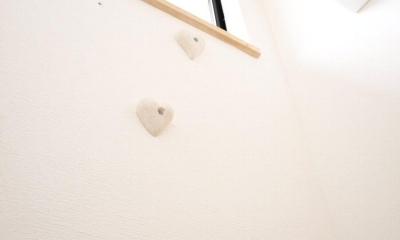 住吉山手 戸建て (階段にあるアクセント)