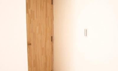 住吉山手 戸建て (アーチ型のリビングドア)