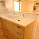 渦森台18号その1 409号室 2005年の写真 コンパクトなキッチン