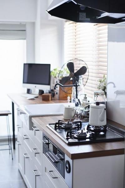 キッチン (「内側に外をつくる」明確なコンセプトを軸に臨んだ2度目のリノベーション)