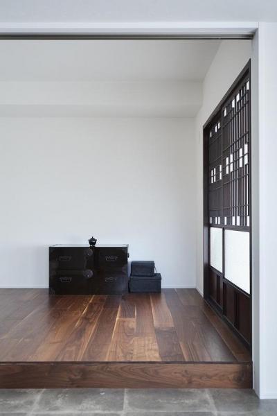 寝室 (「内側に外をつくる」明確なコンセプトを軸に臨んだ2度目のリノベーション)