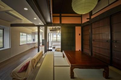 応接スペース(和室) (美山のK邸改修)