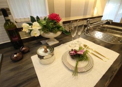 キッチン (リノベーションで優美なライフスタイル)