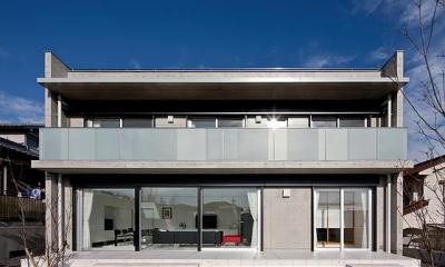 奈良の家   O 邸      2010 (南面外観)