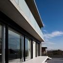 奈良の家   O 邸      2010の写真 南面外観とテラス
