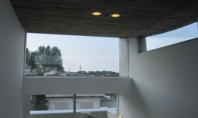 奈良の家   O 邸      2010 (塔屋(3階)内観)