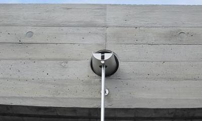 奈良の家   O 邸      2010 (塔屋の雨とい)