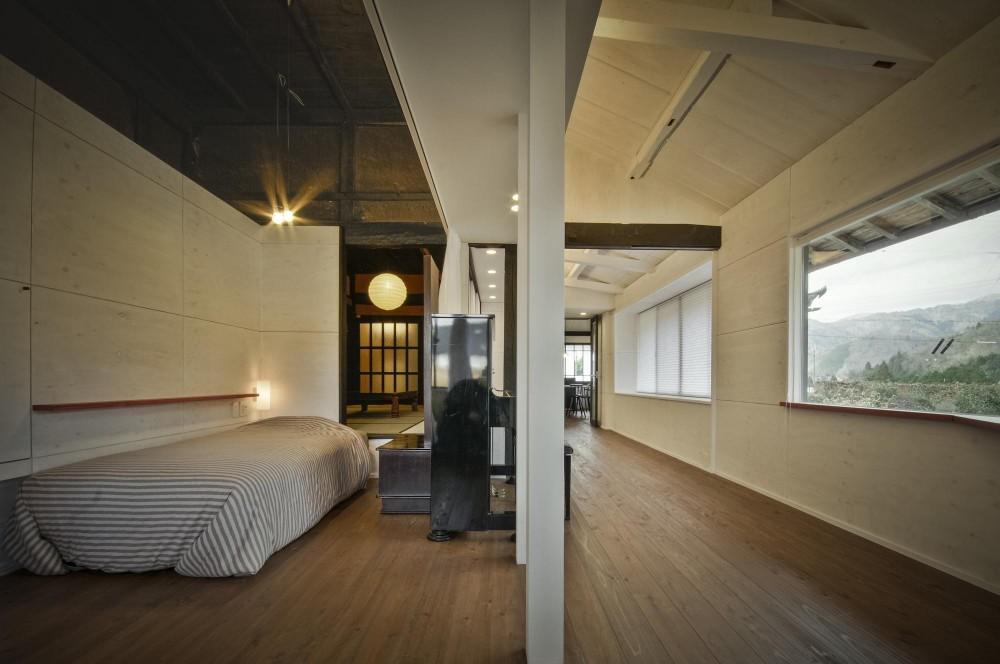 美山のK邸改修 (寝室 + リビング)