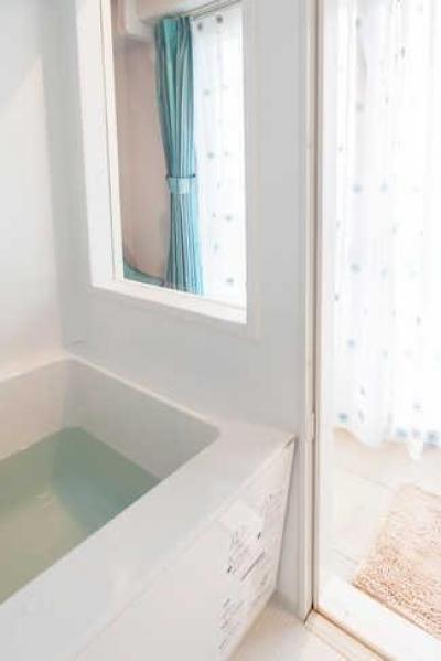 バスルーム (A邸-全部取っ払ってワンルームにしてみたら)