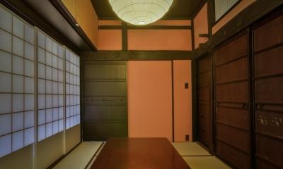 応接スペース(和室)|美山のK邸改修