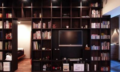 本棚|Nogi-壁一面の本棚 2歩進んだリノベとは