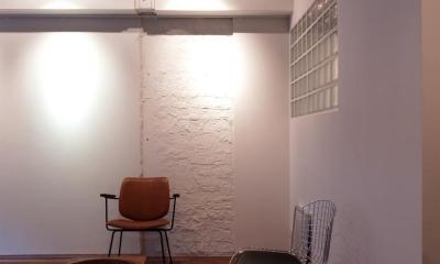 リビング|Nogi-壁一面の本棚 2歩進んだリノベとは