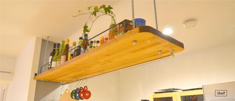 好きなモノを眺める暮らしの部屋 shelf