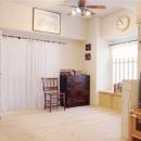 アンティーク家具が似合う部屋の写真 Living