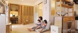 アンティーク家具が似合う部屋 (Living dining kitchen)