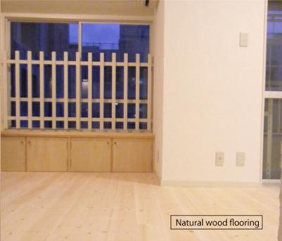アンティーク家具が似合う部屋の部屋 Natural wood flooring