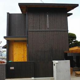 北面外観 (奈良の家   K 邸     2014)