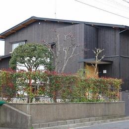 東面外観 (奈良の家   K 邸     2014)