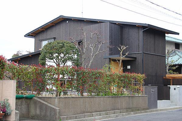 外観事例:東面外観(奈良の家   K 邸     2014)