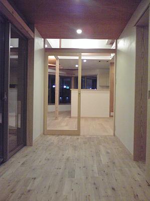奈良の家   K 邸     2014 (玄関ホール)