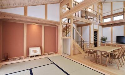和室|タテの家