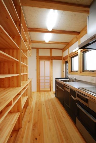 タテの家 (キッチン)