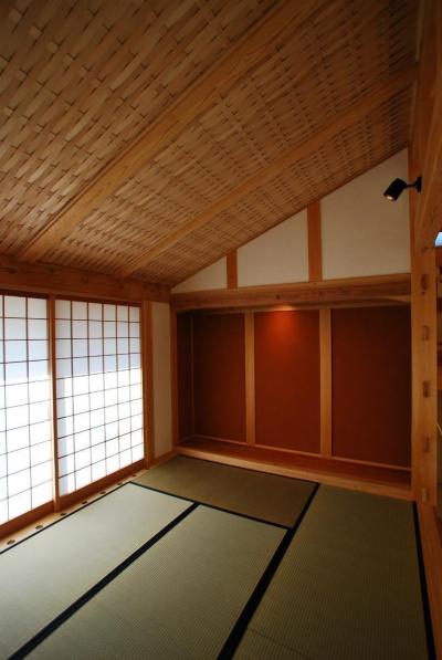 和室 (タテの家)