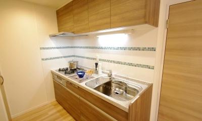 動線や暮らしやすさをしっかりと考えた快適な住まい (キッチン)