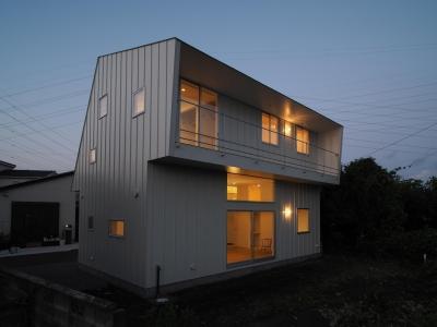 希望ヶ丘の家 (夜景)